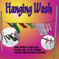 maya hanging wash