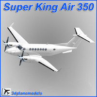 Bianco Super King Air B350 Beechcraft generico