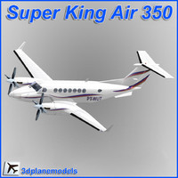 Beechcraft Super King Air B350 Private livery 1