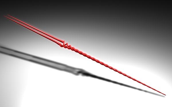 free lanza longinus spear 3d model