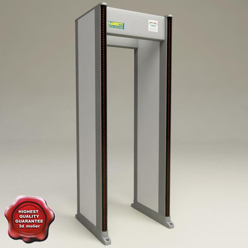 maya metal detectors airport