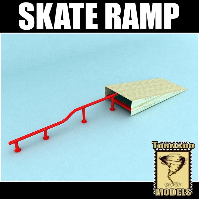 skate ramp 3d 3ds