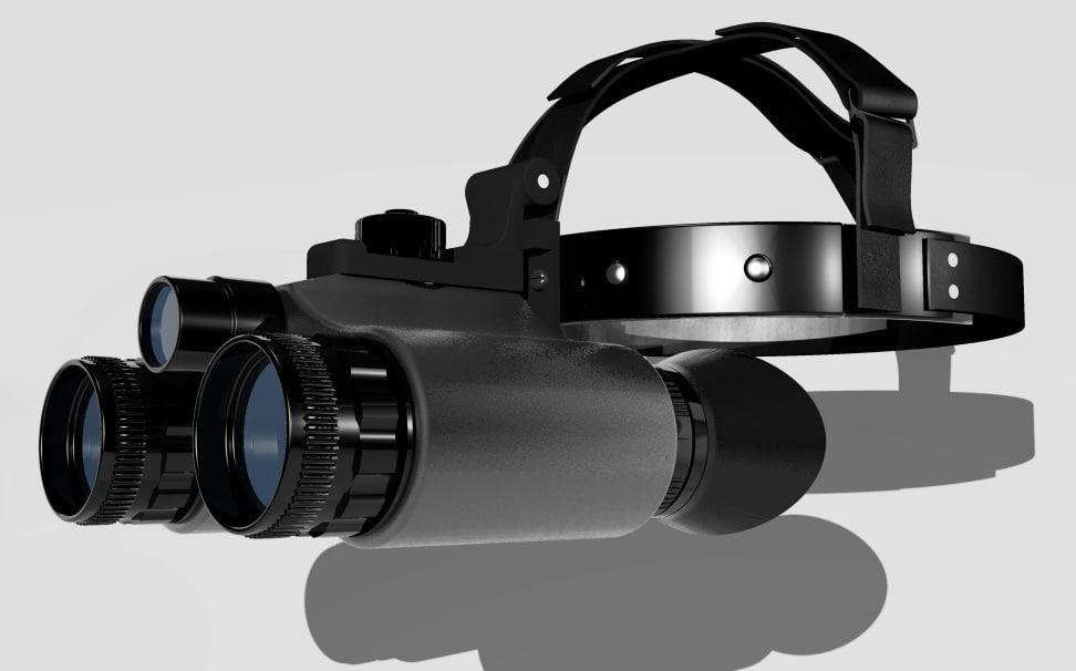 night vision 3d model