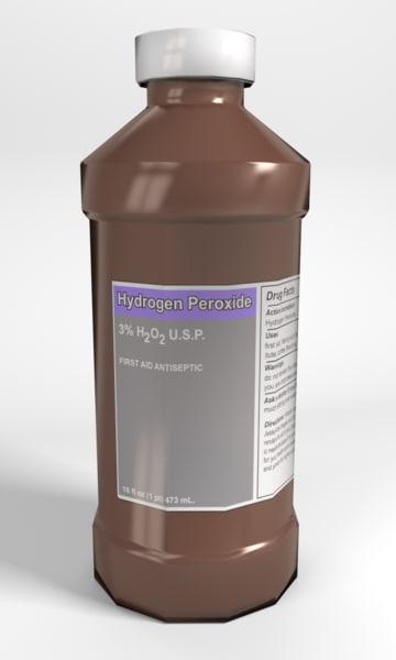 3d model peroxide