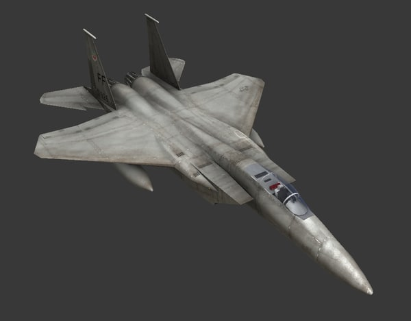 f15 strike eagle 3d model