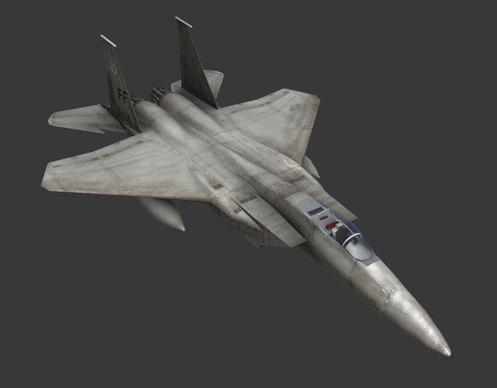 f15 strike eagle 3d model