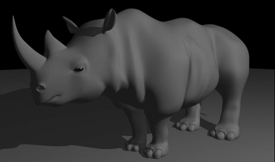 rhinoceros xsi