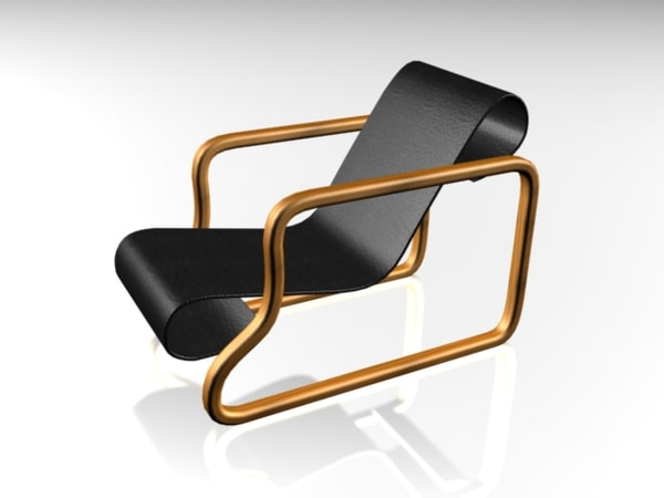 3ds max chair home