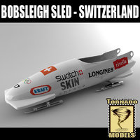 Bobsleigh Sled - Switzerland