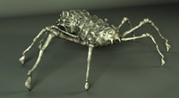3ds max spider animate