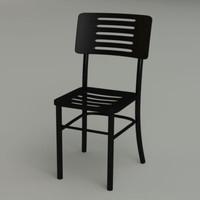 3d ikea chair plastic faux