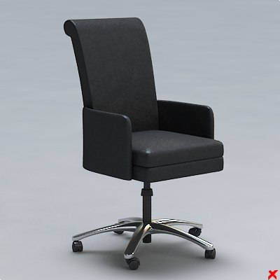 chair office 3d max