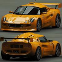 3ds max s1 elise motorsport