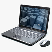 3d hp mouse laptop