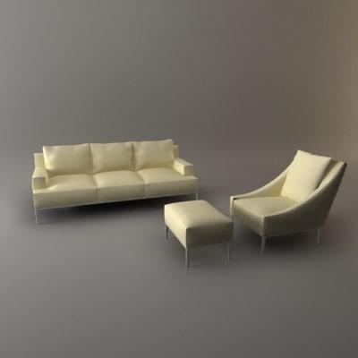 maya sofa chair furniture set