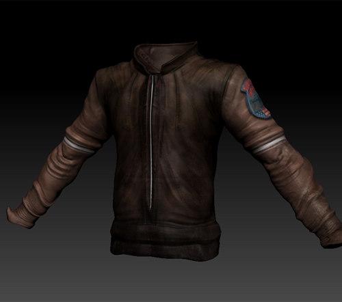 steampunk jacket 3d 3ds