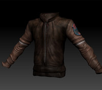 steampunk jacket 3d 3ds