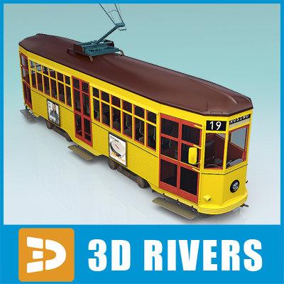 maya old milan tram tramways