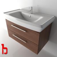 wash basin cabinet 3d max