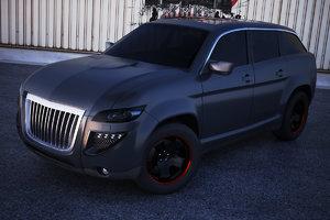 s u v concept car 3d model