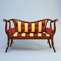 3d volpi pompei sofa