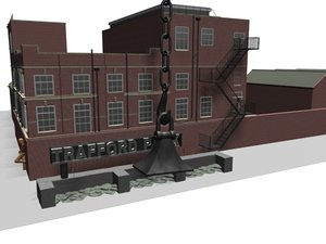 3d model salford queys