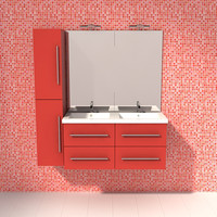 bathroom 3d obj