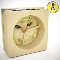 3d clock circles model