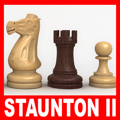 staunton chess pieces set ma
