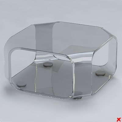 free 3ds model table glass