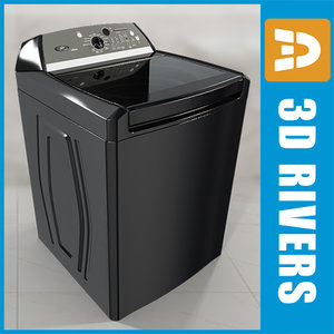 3ds tech load black washer