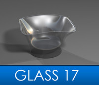 3d drinking glass model