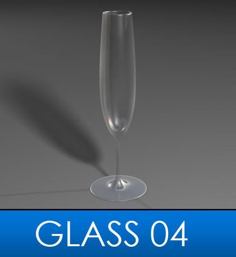 3d elegant glass