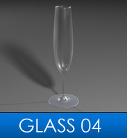3d elegant glass