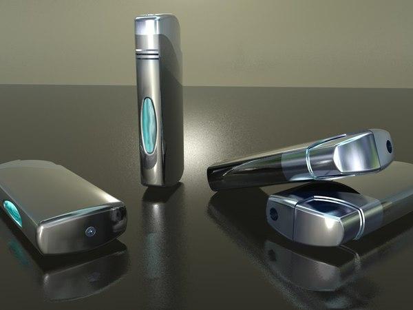 gas lighter 3d 3ds