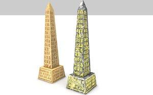 c4d obelisco