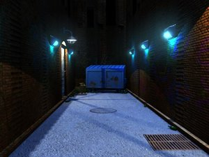 3d alleyway night cover