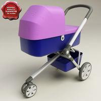3d baby stroller v2