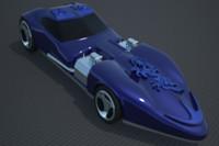 lightwave concept car sport