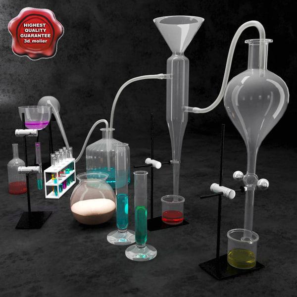 chemical equipment v3 3d model