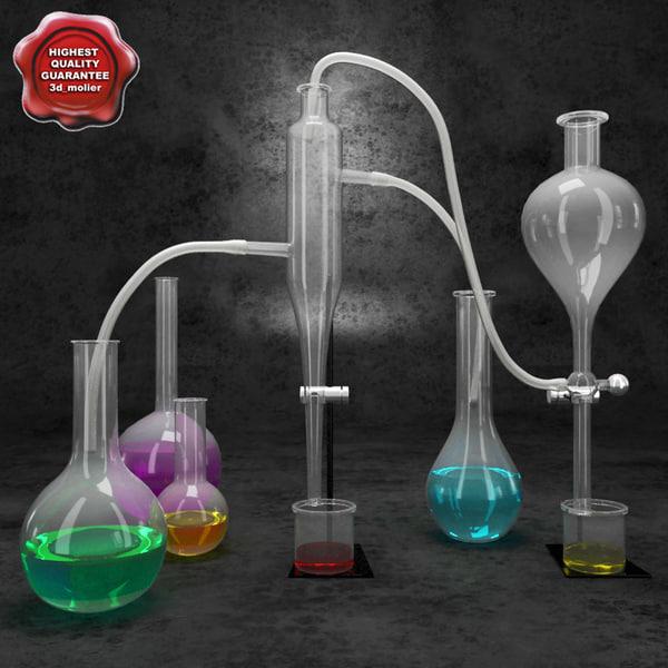 3d chemical equipment v5 model