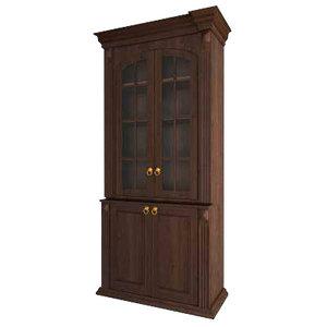 cabinet classic 3d obj