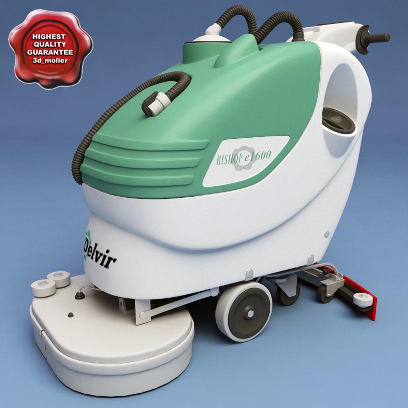 floor clean machine delvir 3ds