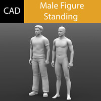 Solidworks CAD Human Male