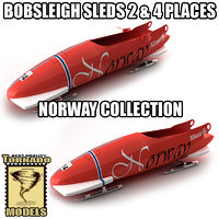 maya bobsleigh sled - norway