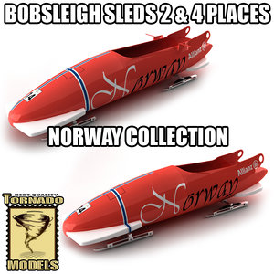 maya bobsleigh sled - norway