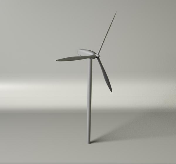 cinema4d wind turbine