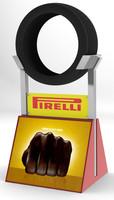3ds max stand pirelli