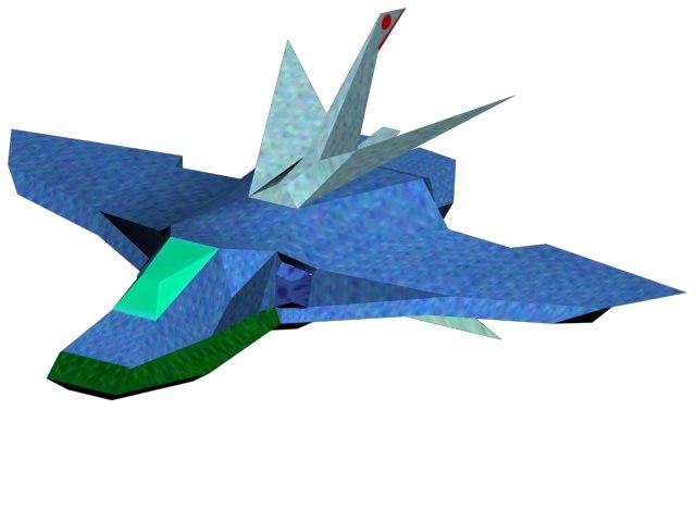 3d spaceship airplane