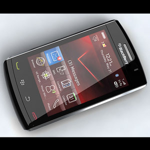 3d model blackberry storm 2 9520